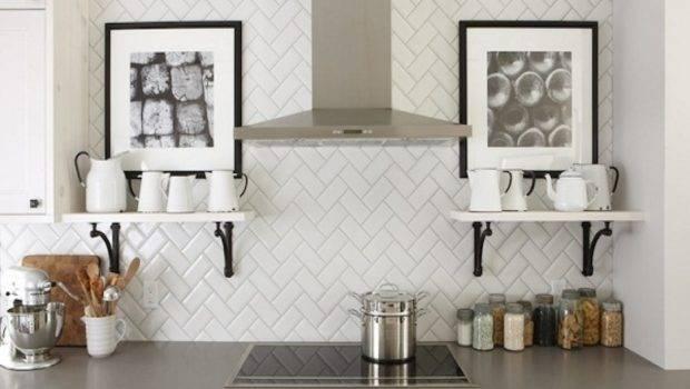 Decor Layout Design Inspiration Subway Tile Backsplash