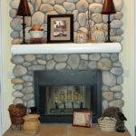 Decorating Fireplace Mantel Fall Decor Ideas Rustic