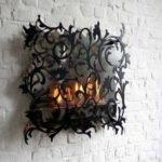 Decorating Ideas Fireplace Gothic