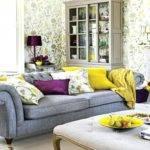 Decorating Purple Green Living Room Best