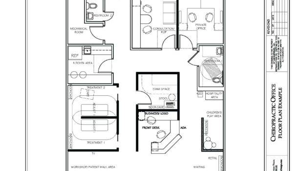 Decoration Office Floor Plan Template