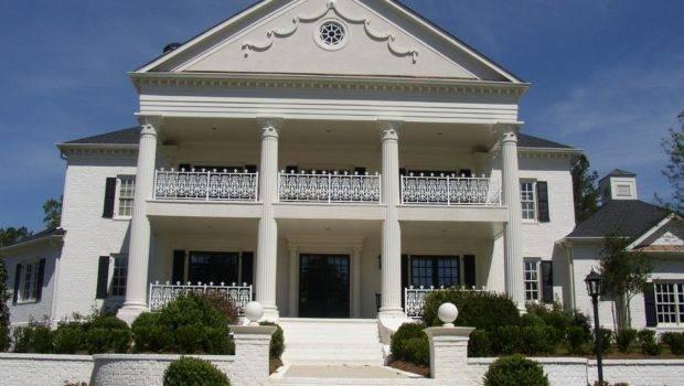 Decorative Architectural Columns Castle Design