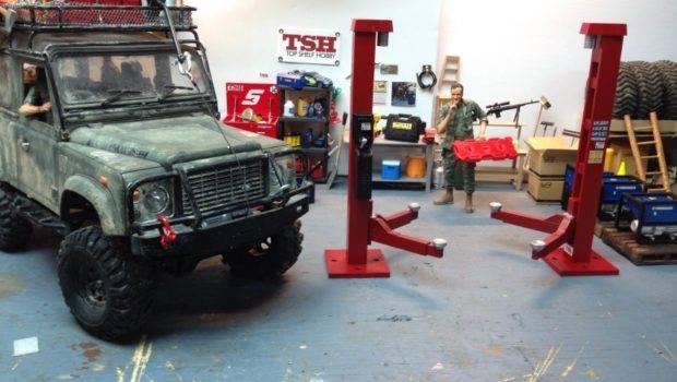 Defective Hydraulic Garage Vehicle Hoist Adjustable Lift Top
