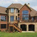 Delightful Stone Wood Houses House Plans