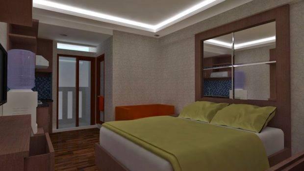 Desain Interior Apartemen Tempat Tinggal Kantor