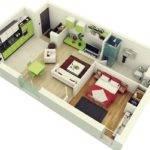 Design House Plans Cool Studio Apartment