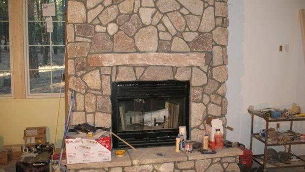 Design Idea Rustic Fireplace Interior Stone Veneer Ideas