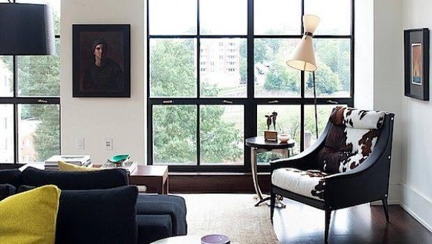 Design Interior Hangat Apartemen Bergaya Eklektik Desain