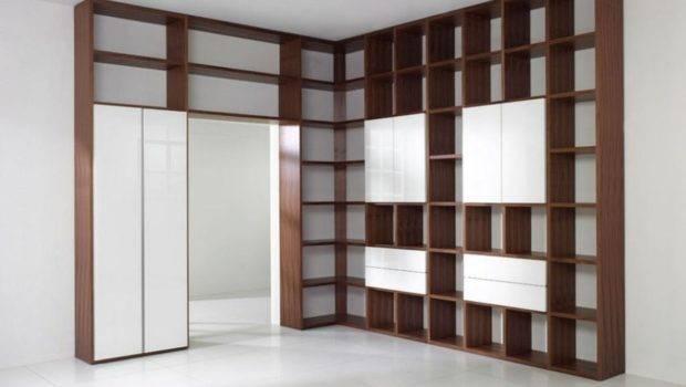 Design Living Room Brown Shelving Bookcase Floor Games