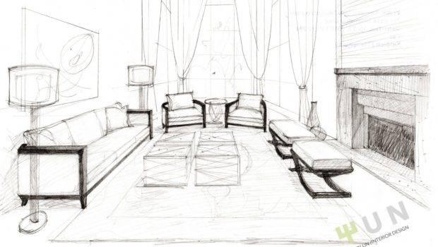 Design Sketch Formal Living Room