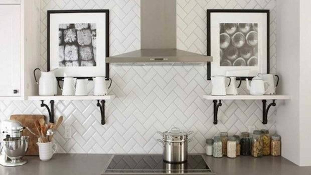 Design Subway Tiles Kitchen Backsplash Black Tile