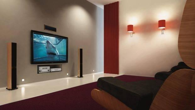 Designer Ideas Decorating Living Room Flat Screen