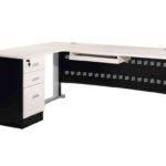 Desks White Black Color Cheap Modern Computer Desk Nidahspa