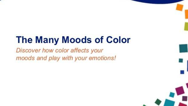 Different Colors Affect Your Mood Home Design