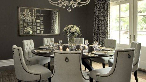 Dining Chairs Diningroom Round Tables Room Design