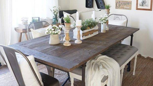 Dining Room Awesome Rustic Table Decor Country