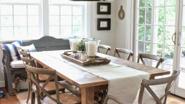 Dining Room Awesome Rustic Table Decor