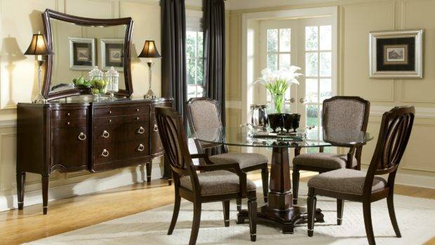 Dining Room Bay Window Glass Coffee Table Centerpieces