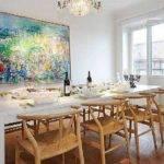 Dining Room Contemporary Scandinavian Style Home Design