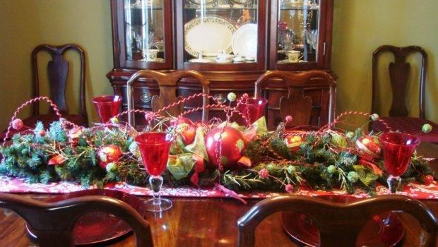 Dining Room Decorating Ideas Christmas