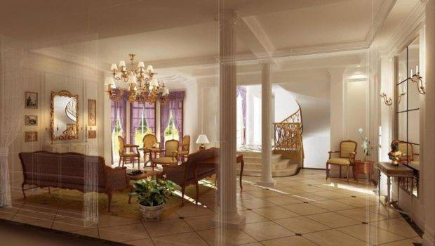 Dining Set Stairs Living Room Pillar Decoration Ideas