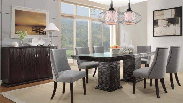 Dining Tables Interesting Contemporary Table Set