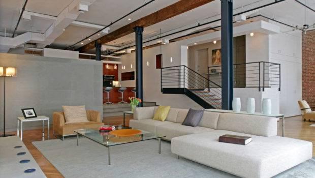 District Open Plan Loft Manhattan Idesignarch Modern Apartment