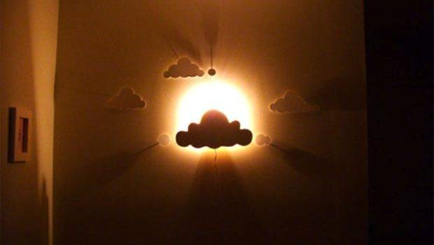 Diy Cloud Wall Night Light Nursery Room Kidsomania