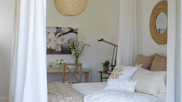 Diy Four Poster Bed Attach Curtain Rods Ceiling Slide