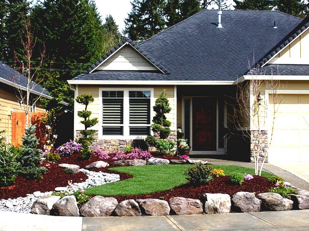 Diy Landscaping Ideas Front Yard Easy Cool Garden - Cute ...