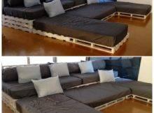 Diy Wood Pallet Couch Design Ideas Inspiring Interior