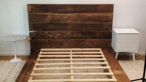 Diy Wooden Bed Frame Your Self