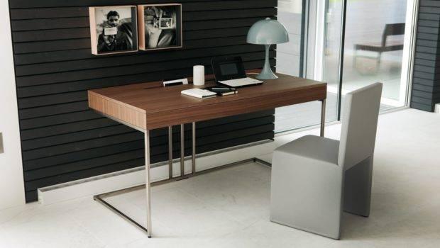 Don Have Hidden Away Sleek Contemporary Desk Design Can Make