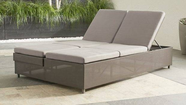 Double Chaise Sofa Lounge Long Couch
