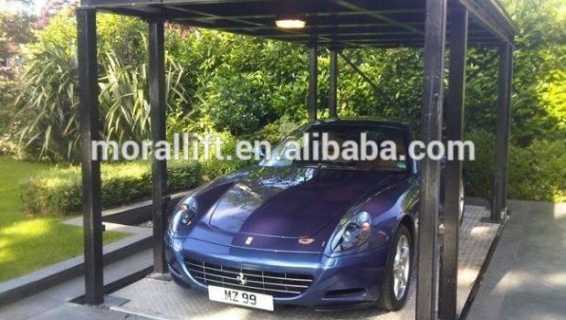 Double Deck Garage Hydraulic Car Elevator Buy