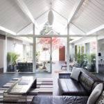 Double Gable Eichler Remodel Klopf Architecture Design Milk