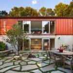 Double Storey Shipping Container Home Design