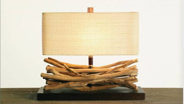 Dramatic Found Twig Lamp Lighting Innovation Indoor Palecek