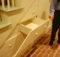 Drawers Make Unoccupied Space Underneath Stair