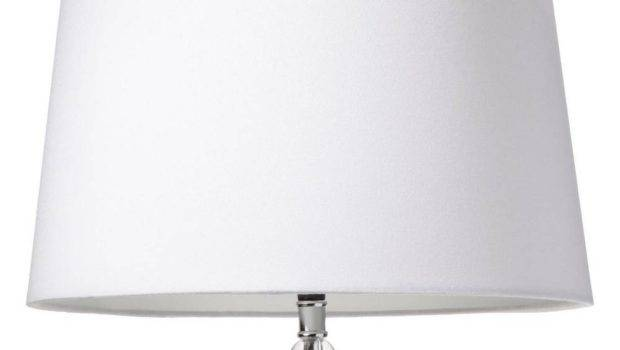 Drum Linen Lamp Shade White Large Threshold Ebay