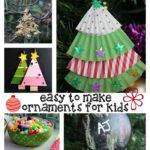 Easy Homemade Christmas Ornaments Kids
