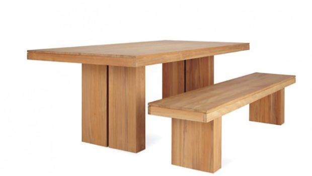 Easy Pieces Simple Wooden Outdoor Dining Tables Remodelista