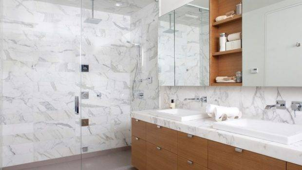 Effect Marble Bathroom Tiles