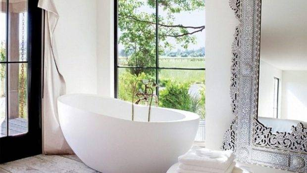 Egg Shape Tub Bathroom Design Pinterest