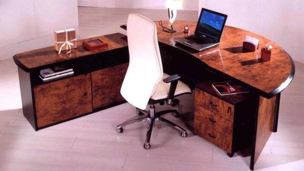 Elegant Office Desk Furniture Mars Interior Design Architecture