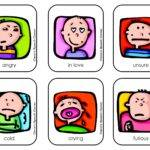 Emotions Faces Chart Color David Feeling
