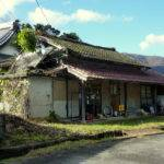 Ended Typical Japanese Style House Small Village