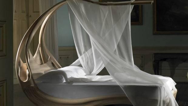 Enignum Wooden Canopy Bed Dudeiwantthat