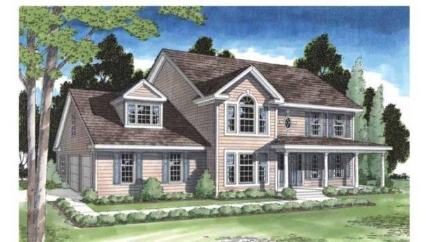 Eplans Georgian House Plan Elegant Front Porch Farmhouse