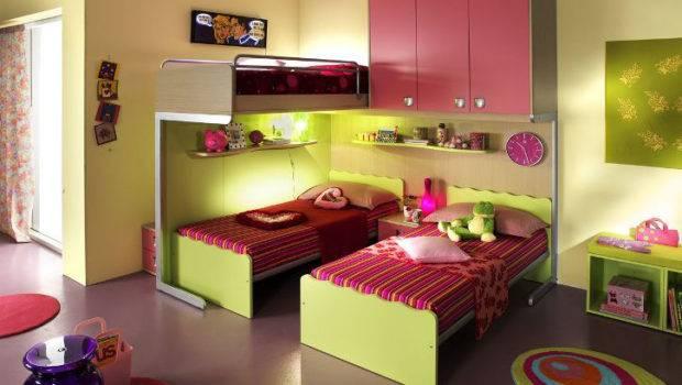 Ergonomic Kids Bedroom Designs Two Children Linead